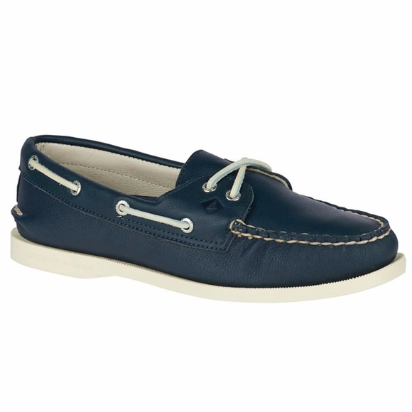 New Sperry Top Sider Boat Shoes Navy