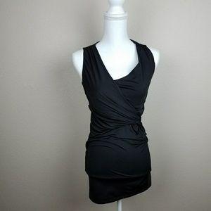 FREE!Read Black mini evening dress elegant minimal