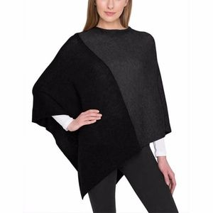Jackets & Blazers - Wool and Cashmere Poncho