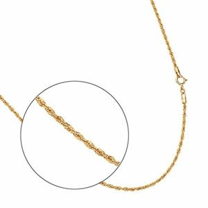 "Jewelry - 14k Yellow Gold 1.8mm Rope Hollow Chain 16"" or 18"""