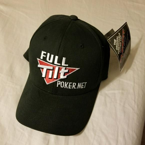 4ea2c8f22e3 Black Full Tilt Poker Hat.