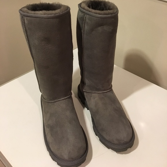 bca5bc7b949 New Ugg Essential gray color size 8 tall boots ❤️
