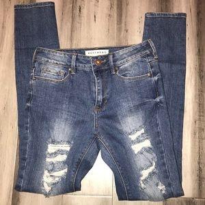 Bullhead Jeans High Rise Skinniest Jeans Size 3