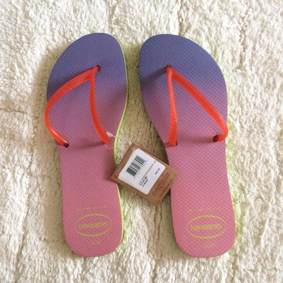 8ebd9b609 Havaianas Shoes | Flat Sunset Flip Flop | Poshmark