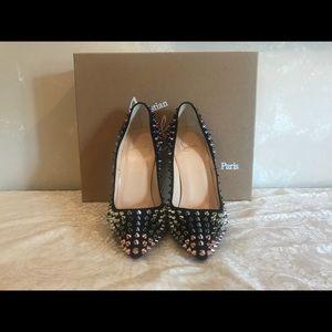 361b9a750209 Christian Louboutin Shoes - Christian Louboutin So Kate Spikes 120 Pumps 38