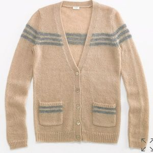 J. Crew Factory Mohair Cardigan Size Small