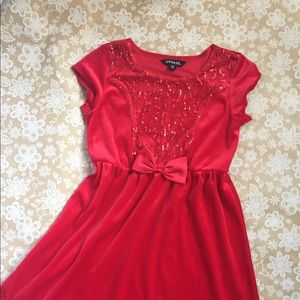 George Holiday style dress with beautiful sequins