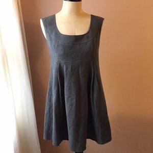 Susana Monaco Gray Wool Blend Jumper Dress 6