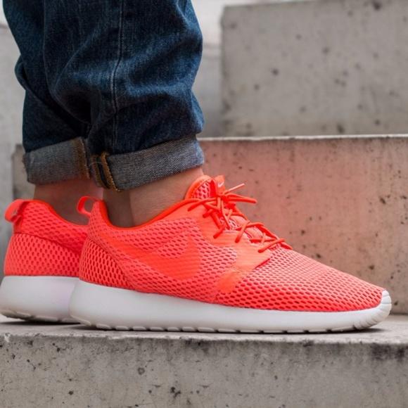 d0c9635e9dd9d Nike Roshe One HYP BR  Bright Crimson