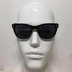 Tom Ford Jack TF45 01D black polarized Sunglasses