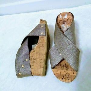 A.n.a Wedge Sandals
