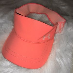 coral under armour visor!