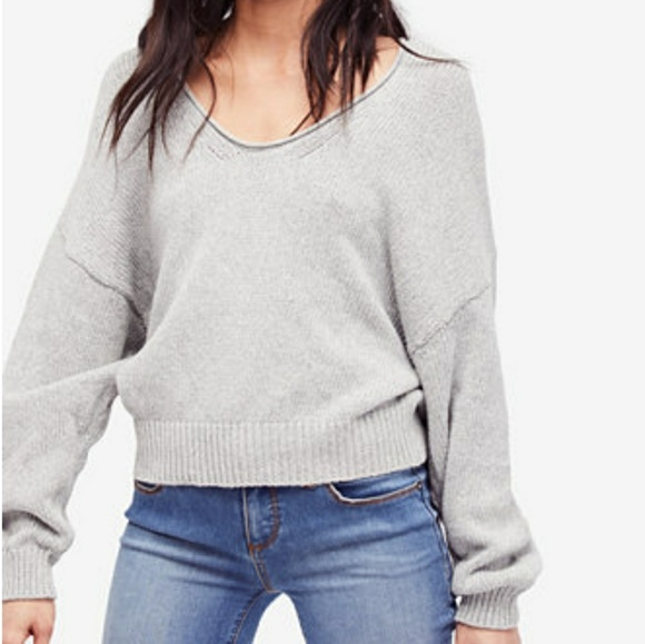 NEW❤Free People Perfect Day Cotton Sweater a7be6de73