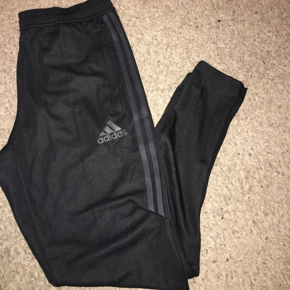 All Black Adidas Climacool Sweats