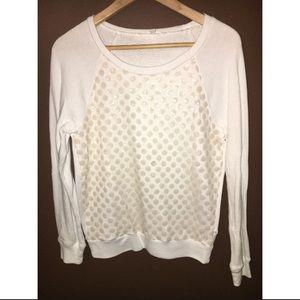 Victoria's Secret sequin dot sweatshirt