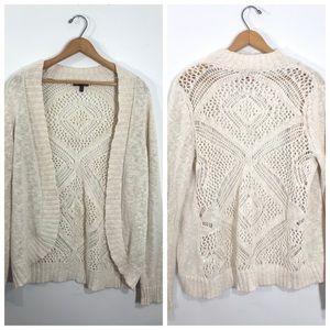 Open Knit Cardigan • Medium