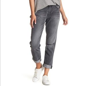 Current Elliott • The Fling Boyfriend Jeans Grey