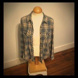 Tops - Women's flannel button down