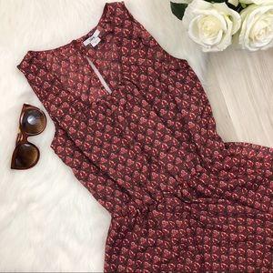 🌻Bar III Geometric Peplum Dress XS🌻
