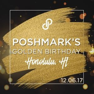 PoshmarkTurns6 Accessories - POSHMARK 6TH BDAY @ HONOLULU