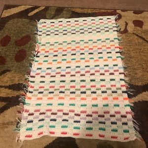 Other - Hand knit baby blanket