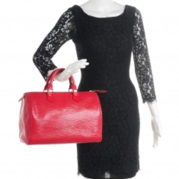 Louis Vuitton Handbags - Auth Louis Vuitton Epi Speedy 35 Supreme Style Bag 545855eef
