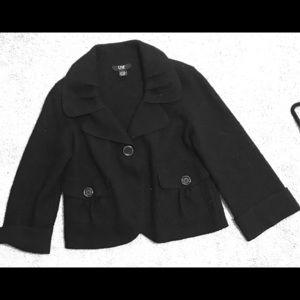 Jackets & Blazers - DM WOOL PEA COAT CAPE SLEEVE SIZE MED