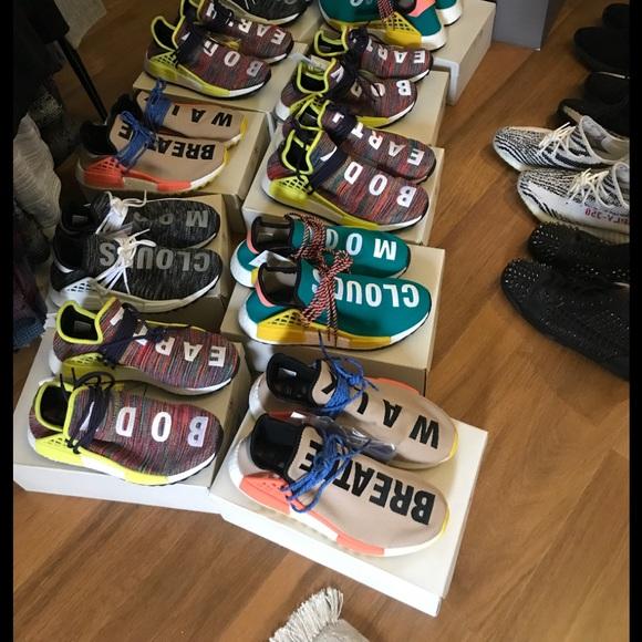 adidas Shoes | Yeezy Human Race Text