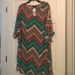 Multicolored dress! Never worn