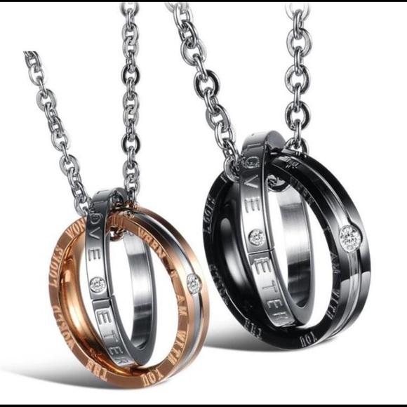 Jewelry Couple Love Necklaces Poshmark