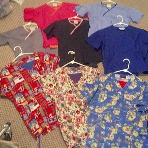 Scrubs Jackets and Undershirts sizes S & M