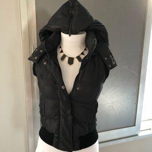 Bcbgmaxazria puffy vest