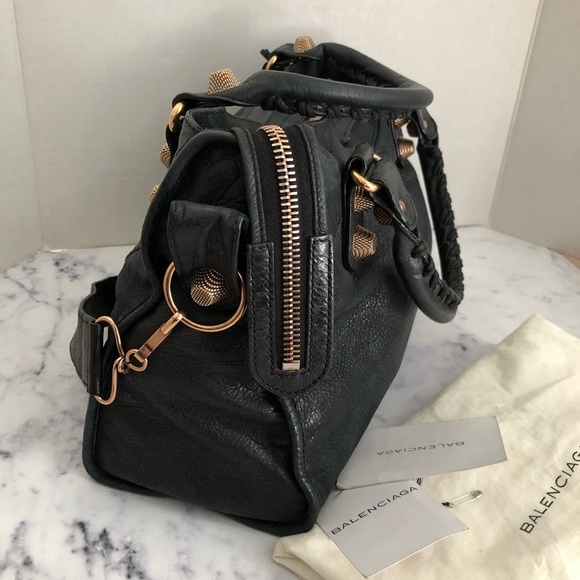 Balenciaga Bags - Balenciaga city bag Black RGGH 21