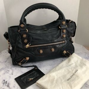 Balenciaga city bag Black RGGH 21