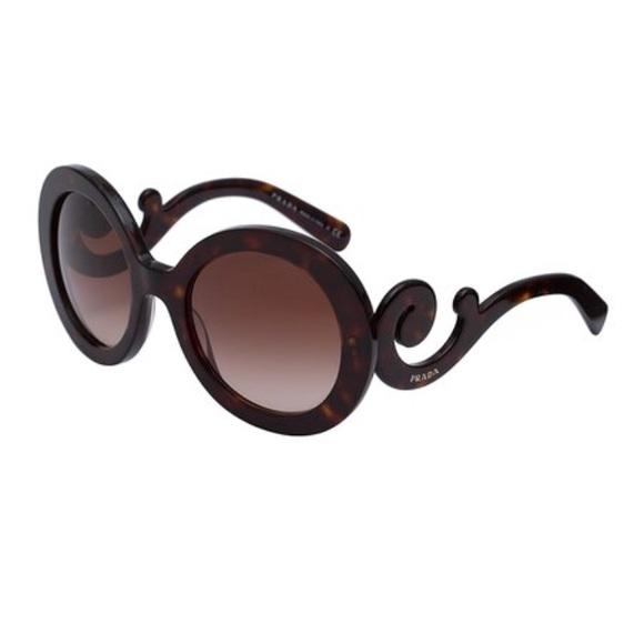 c95be51a04 Prada - Oversized Baroque Sunglasses in Tortoise. M 5a0afb2e4127d0f2ef017225