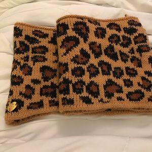 Betsey Johnson Leopard Scarf