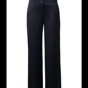 New Helmut Lang Wide Leg navy blue Trousers 8