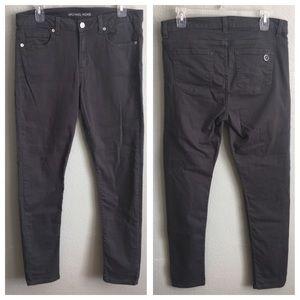 Michael Kors Dark Grey Skinny Pants Jeans Denim
