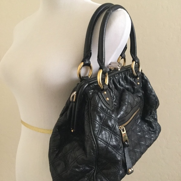 ca0e41c5dea Marc Jacobs Stam Quilted Black Leather Handbag. M_5a0b0137f739bc5d77018371