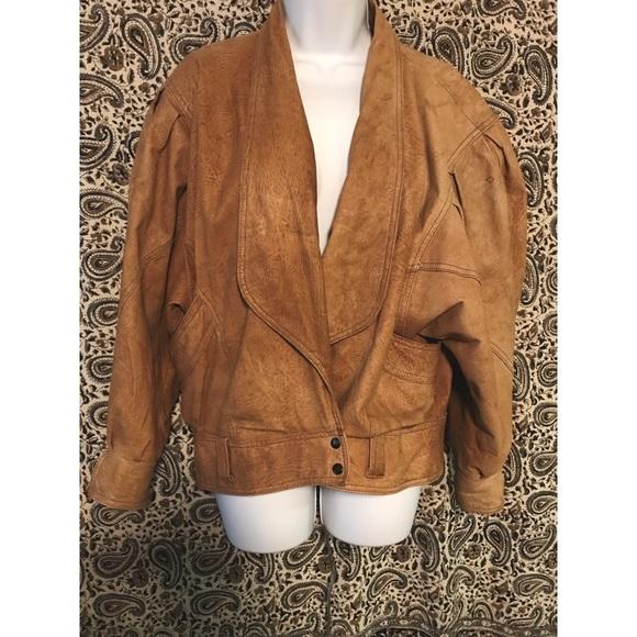 3926b4cc6 Vintage Winlit genuine leather jacket