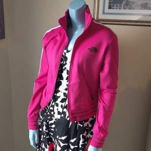 Pink The North Face Track Jacket