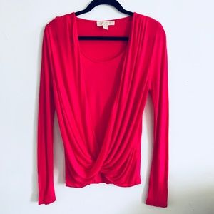 Michael Kors  drape top (new)