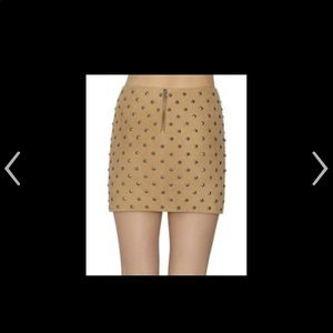 Alice and Olivia studded skirt sz four never worn