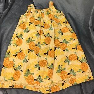 Janie and Jack pineapple dress