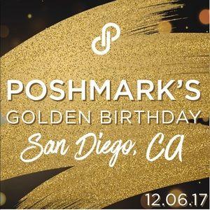 Other - POSHMARK TURNS 6 in SAN DIEGO!!!