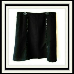 Christopher & Banks Black Skirt