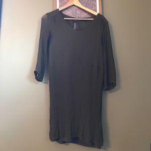 Madewell broadway and broome silk dress