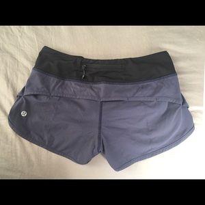 Size 2 Lulu lemon running shorts