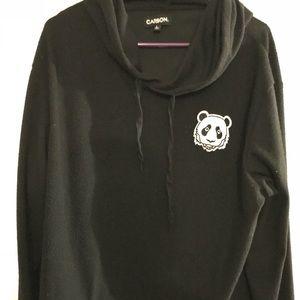 Super soft panda hoodie
