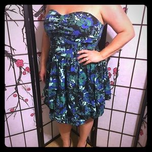💥Priced to Sell💥EUC Torrid Strapless Dress 24